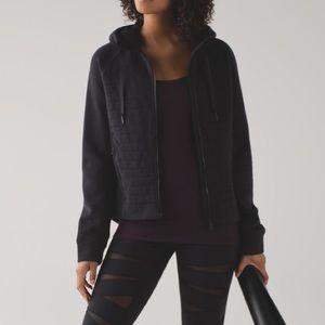 Lululemon Fleece to be true zip up hoodie jacket
